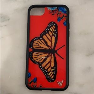 Butterfly wildflower case for iPhone 6/7/8
